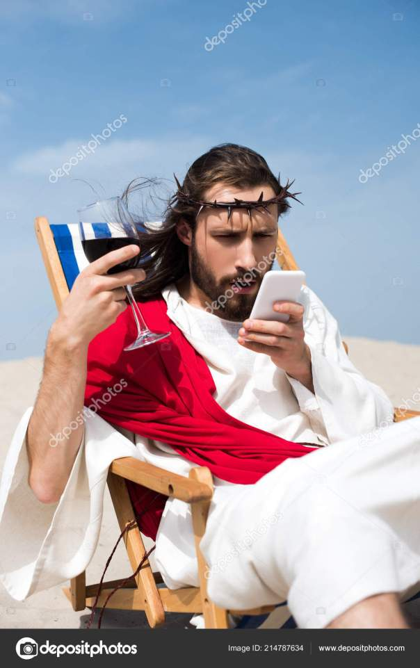 depositphotos_214787634-stock-photo-surprised-jesus-resting-sun-lounger